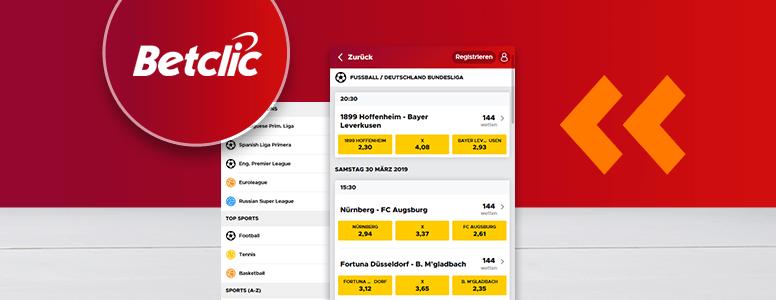 BetClic Sportwetten App
