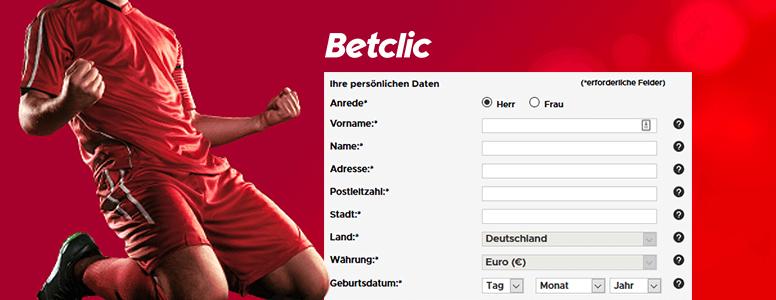 Betclic Registrierung