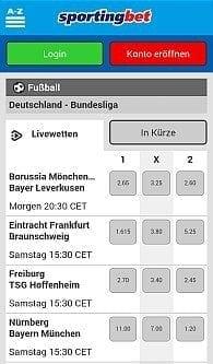 Sportingbet iPhone App