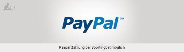 Sportingbet Paypal auszahlen
