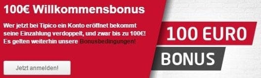 tipico Auszahlung Bonus