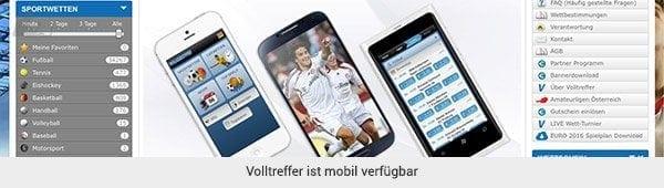 Das mobile Angebot ist einfach zu benutzen