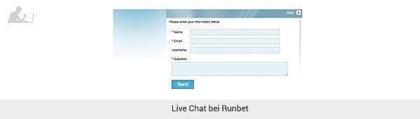 Mit dem Live Chat alle Fragen beantworten