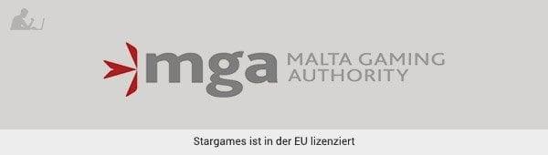 Stargames Lizenz