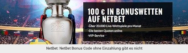NetBet Bonuswette