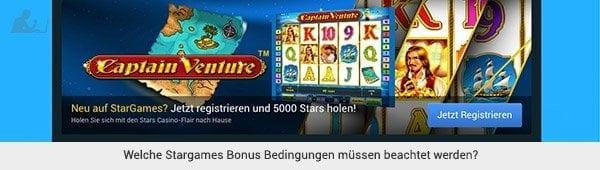 Stargames Bonus Bedingungen