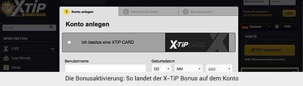 X-TiP Bonus Konto