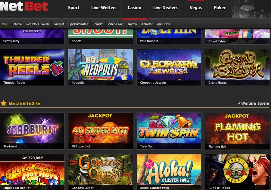 Slots & Tischspiele mit Jackpots