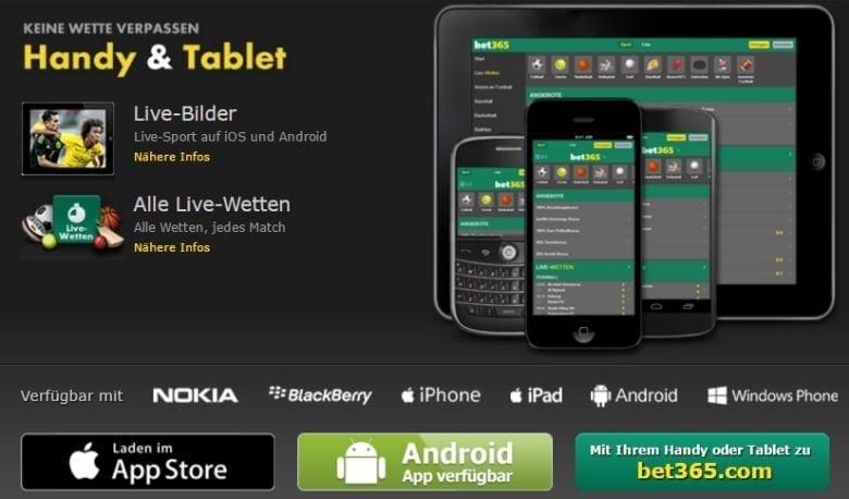 mobil Livewetten abschließen