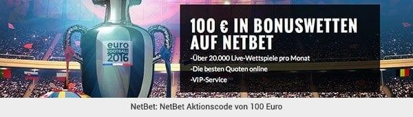 NetBet - Aktionscode