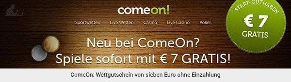 ComeOn - Wettgutschein