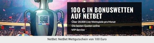 NetBet - Wettgutschein