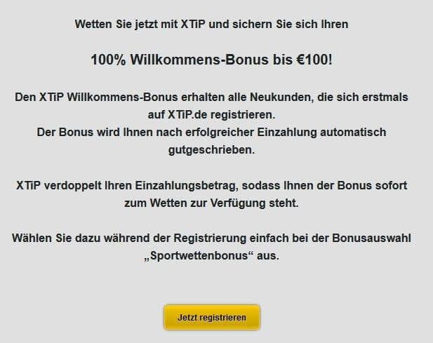 Bonus bis 100 Euro