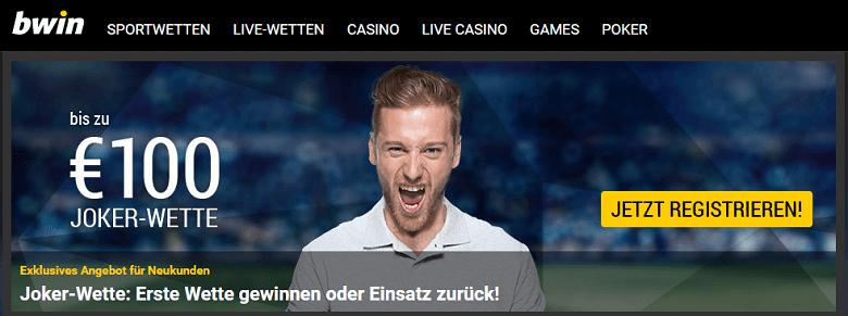 Bwin Webseite