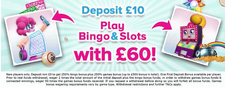 888 Ladies Bingo Bonus Code