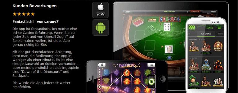 App für 888 Casino