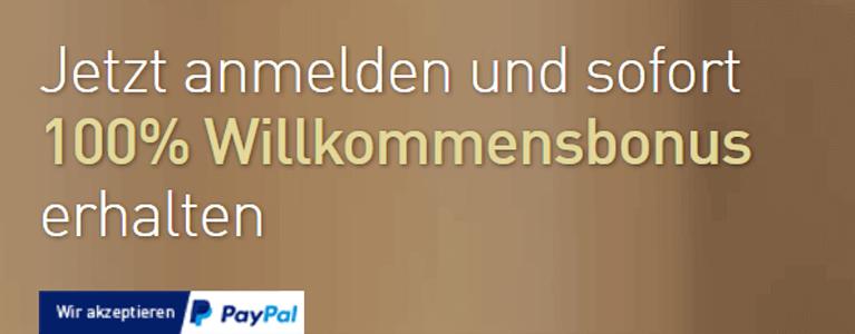Bestes Internet Casino mit PayPal Einzahlung & Auszahlung