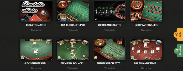 Tischspiele Casino Cruise