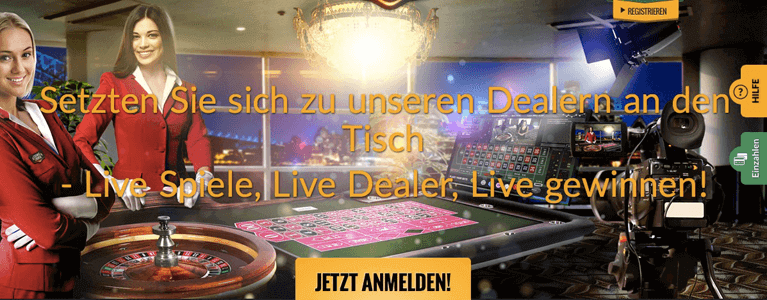 Live Casino Startseite