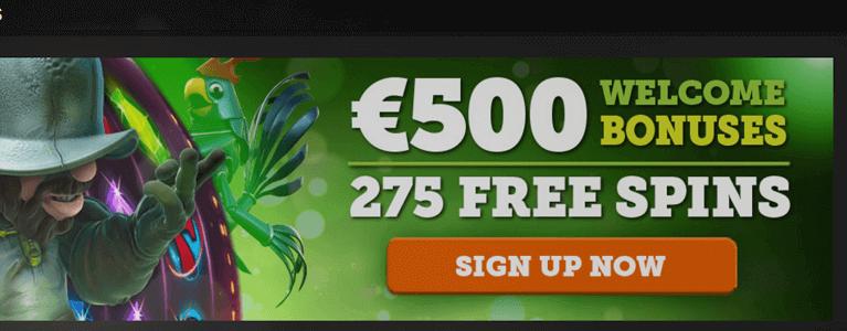 CasinoLuck Casino Bonus Codes