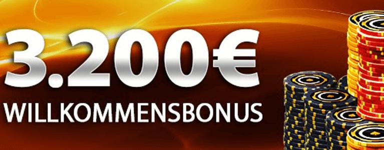 3.200 Euro Bonus können sich Neukunden auf Casino.com nach ihrer Anmeldung sichern