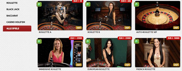Flamantis Casino Live-Casino