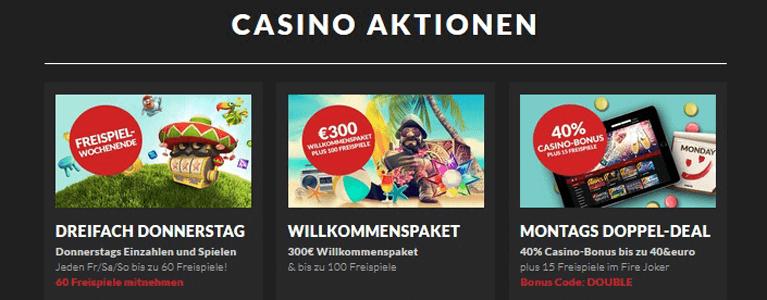 Promotion und besondere Aktionen im Guts Casino für Bestandskunden