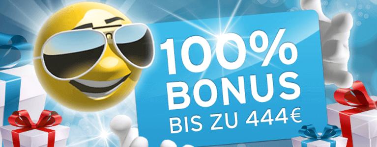 Bis zu 444 Euro Neukundenbonus