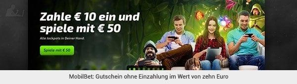 MobilBet Gutschein