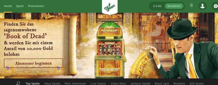 Mr. Green Startseite Casino