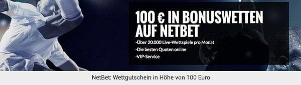 NetBet Wetten Gutschein