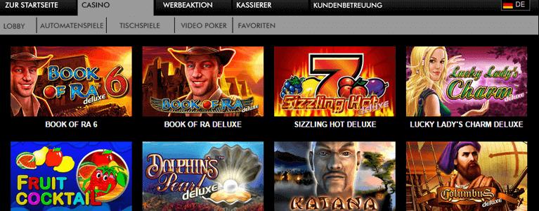 Ovo Casino Spiel Angebot