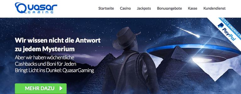 Startseite Quasar Gaming Casino