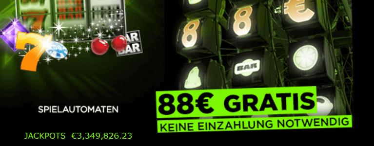 No Deposit Bonus bei 888Casino