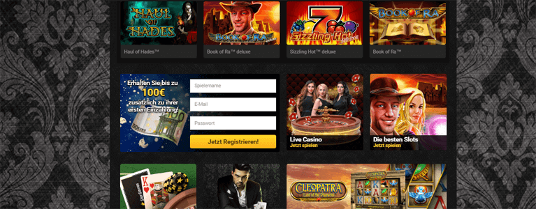 Stargames Casino Angebot