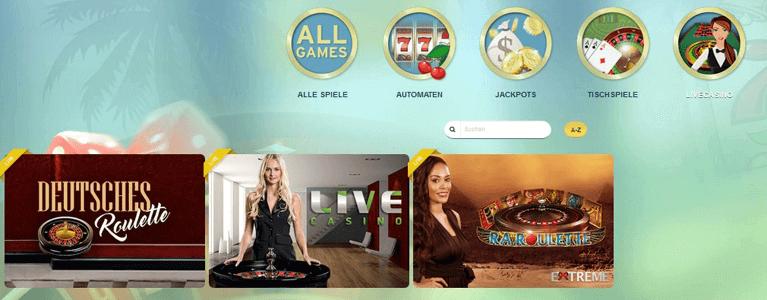 Im Live Casino des Sunnyplayer Casinos kümmern sich hübsche Dealer um die Spieler
