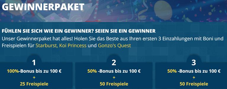 Vegas Winner Bonus Codes
