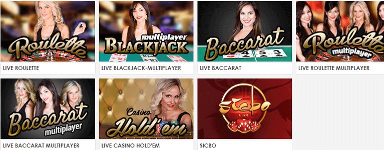 Live Casino Angebote mit Live-Dealer nutzen