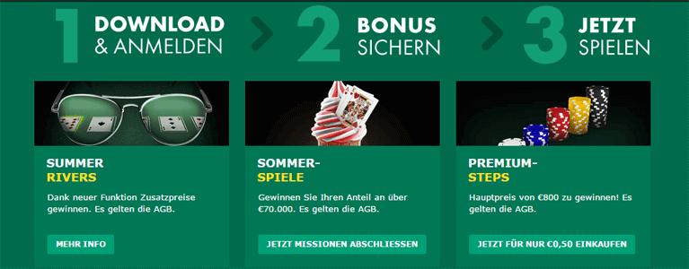 bet365 Poker Bonus beantragen