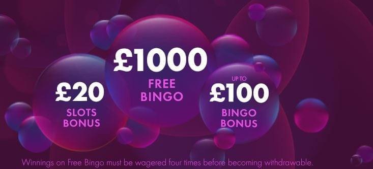 Bet365 Bingo-Bonus für Neukunden