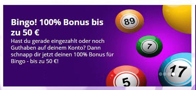 betsson Bingo nutzen und Willkommensbonus erhalten