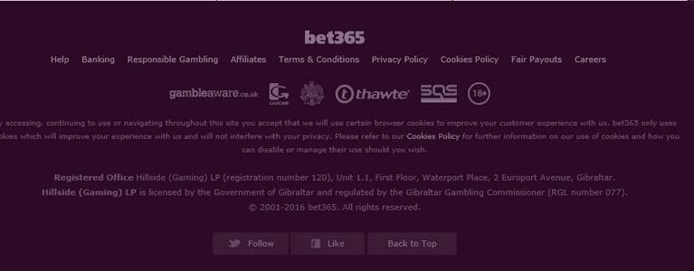 Die aktuellen bet365 Bingo-Lizenzen