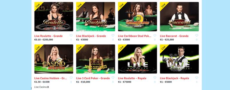 Bingo.com setzt mit neun Live Tischen auf Abwechslung