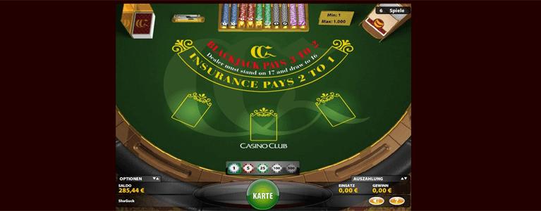 Blackjack Spielregeln bei vielen Anbietern verfügbar