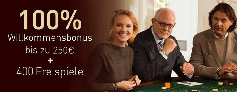 Casino Club Freispiele und Willkommensbonus