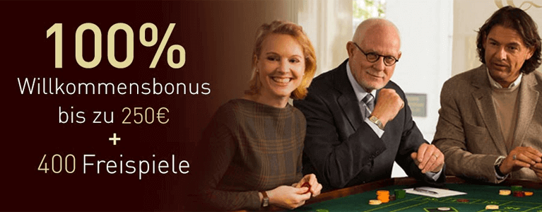 Casino Club Neukundenbonus