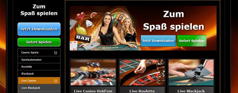 Auf Casino.com überzeugen nicht nur die Spiele im Live Casino sondern auch die hübschen Dealerinnen