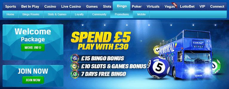Coral Bingo Bonus Codes nutzen und Willkommensbonus sichern