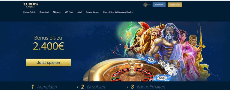 Startseite Europa Casino