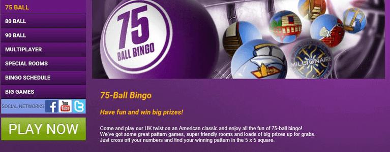 Ladbrokes Bingo Startseite garantiert Übersicht